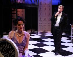 Jennifer Ellis and Christopher Chew in 'My Fair Lady,' continuing through Oct. 11 at the Lyric Stage