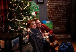 Kelli Anderson and Alec Frasier