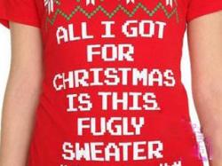 Dumb-Ass Lists: Ugly Holiday Sweater Edition