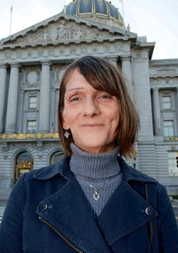 Michelle-Lael Norsworthy has settled her case against state corrections officials