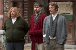Nicolas Bro and Mads Mikkelsen in 'Men & Chicken'