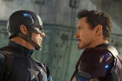 Chris Evans and Robert Downey, Jr. star in 'Captain America: Civil War'