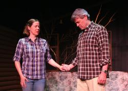 Christine Power and Peter Brown in Zeitgeist Stage Company's production of 'A Great Wilderness'