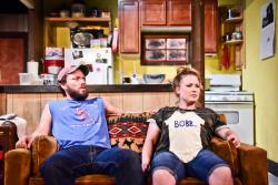 Evan Linder and Liz Sharpe