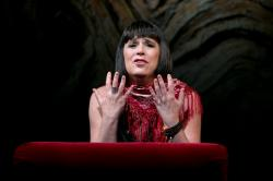Eve Ensler in 'In the Body of the World,' continuing through May 29 at the A.R.T.