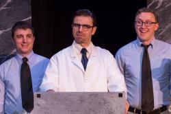 Matt Arnold, Glen Moore, and Justus Perry in 'Blinders'