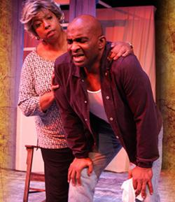 Michelle Dowd and Damon Singletary light up the stage in Zeitgeist's production of eight one-act Tennessee Williams plays, continuing through Oct. 8 at the Boston Center for the Arts