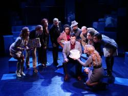 "The cast of ""Company"" at the Lyric Stage"