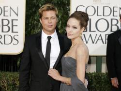 Brad Pitt, and Angelina Jolie in 2007.