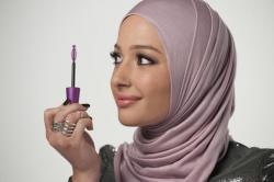 Beauty blogger Nura Afia.