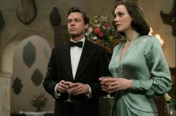 Brad Pitt and Marion Cotillard star in 'Allied'