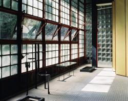 Pierre Chareau's glass house Maison de Verre.