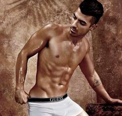 Joe Jonas for Guess