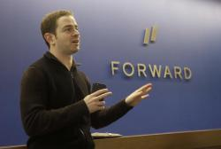 In this Jan. 10, 2017 photo, Ilya Abyzov, co-founder of Forward, is interviewed at a medical office in San Francisco