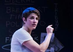 Georgia Lyman flips -- and illuminates -- the script in Ronan Noone's 'The Atheist'