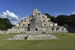 Edzna, a gem of a Mayan site an hour away from Campeche.