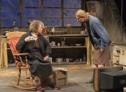 """Marie Mullen and Aisling O'Sullivan in """"The Beauty Queen of Leenane."""""""
