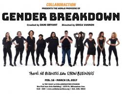 All-Female Cast and Production Team Explore Gender Inequity in Collaboraction's 'Gender Breakdown'