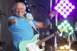 "Jimmy Buffett performing on NBC's ""Today"" show in New York.."