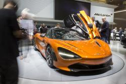 The New Mclaren 720s is presented during the press day at the 87th Geneva International Motor Show in Geneva, Switzerland, Wednesday, March 8, 2017
