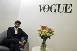 CEO & Publisher of the Vogue Arabia, Shashi Menon