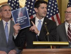 Paul Ryan (R) and The American Heath Care Act