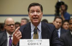 FBI Director James Comey testifies before the House Oversight Committee about Hillary Clinton's email investigation.