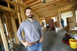 Zach Tyson, owner of Tyson Construction.