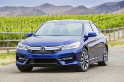 This photo provided by American Honda Motor Co., Inc. shows the 2017 Honda Accord Hybrid