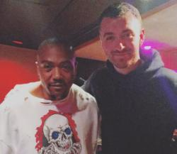 Timbaland (left) and Sam Smith