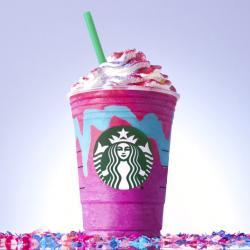 Starbucks' Unicorn Frappuccino