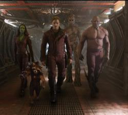 "A scene from ""Guardians of the Galaxy"""