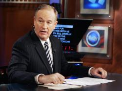 "Bill O'Reilly appears on the Fox News show, ""The O'Reilly Factor,"" in New York."