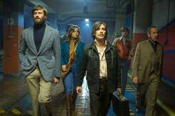 "The ensemble of ""Free Fire."""