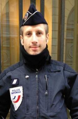 Officer Xavier Jugelé