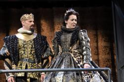Daniel Duque-Estrada stars as King Ferdinand of Aragon and Rachael Warren as Queen Isabella