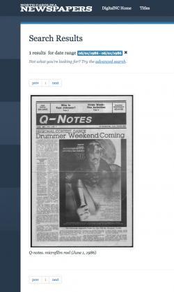 QNotes Digital Paper Archives Now Online