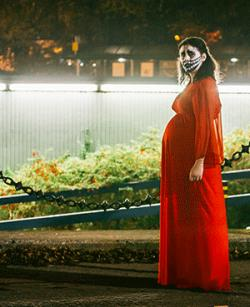 Scene from director Alice Lowe's black comedy 'Prevenge.'