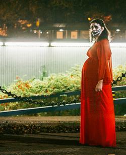 Scene from director Alice Lowe's black comedy 'Prevenge.'