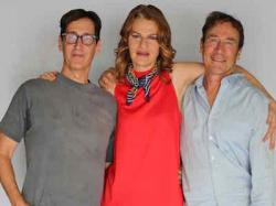 Sandra Bernhard with Stan Zimmerman and James Berg