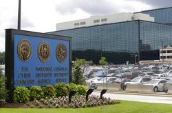National Security Agency (NSA) campus in Fort Meade, Md. Russian hackers attacked at least one U.S. voting software supplier days before the 2016 presidential election
