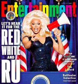 Watch: RuPaul Covers Entertainment Weekly's LGBTQ Issue