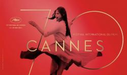The logo to the 70th annual Cannes Film  Festival
