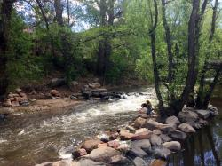Boulder Creek in Boulder, Colo.