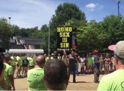 Watch: DC's Gay Men's Chorus Drowns Out Anti-LGBT Bigots at Knoxville Pride