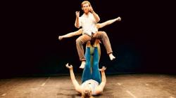 The performance troupe Curbside presents 'Flight'