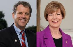 Sen. Sherrod Brown (D-Ohio) and Sen. Tammy Baldwin (D-Wis)