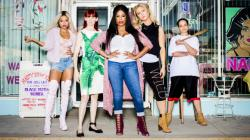 "The stars of ""Claws."""