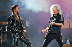 Adam Lambert and Brian May