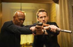 Samuel L. Jackson and Ryan Reynolds star in 'The Hitman's Bodyguard'